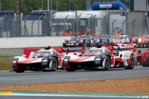 Maillot de bain 24H du Mans 2021, 6e heure : Les Toyota contrôlent la course
