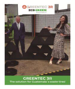 Maillot de bain ECO Green Tools Revolutionizes Atomize Tire Recycling in Guatemala