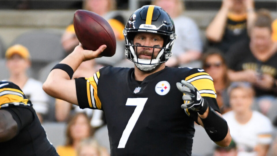 Maillot de bain NFL pre-season roundup: Roethlisberger shines for Steelers in debut
