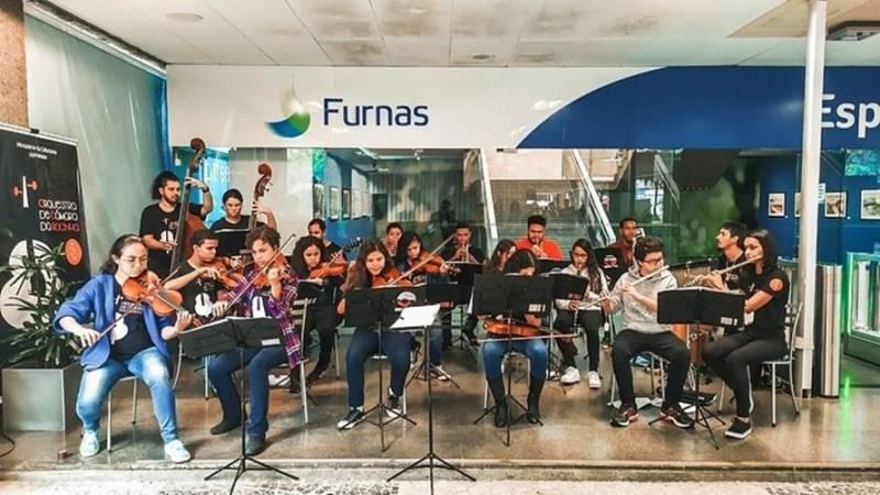 Maillot de bain Empresas Eletrobras lançam Programa Cultural 2021