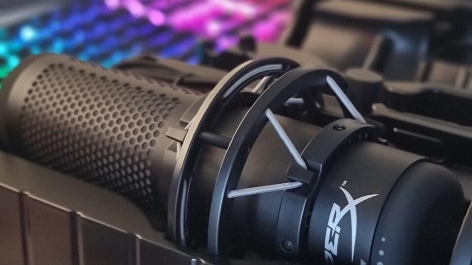 Maillot de bain Review: HyperX QuadCast S USB condenser microphone