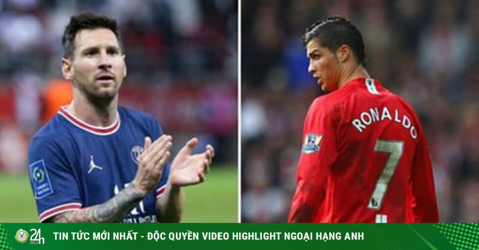 Maillot de bain Ronaldo & Messi về MU & PSG: Những hàng công trong mơ dễ «yểu mệnh»