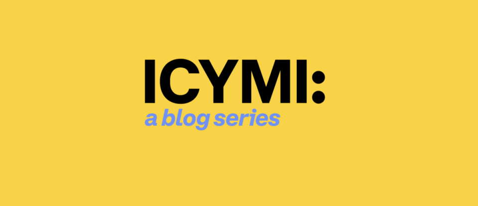 Maillot de bain ICYMI: Brian Goes to DC…