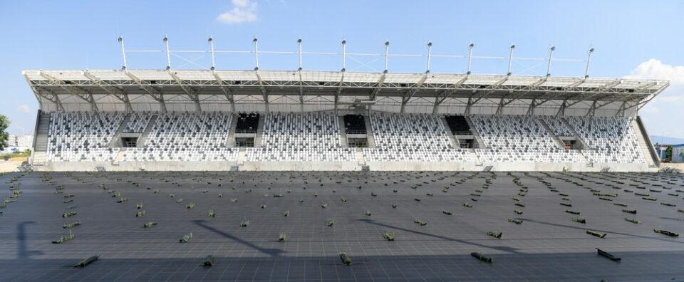 Maillot de bain Štadión v Košiciach? Tráva nerastie, hrať sa na ňom tohto roku nebude