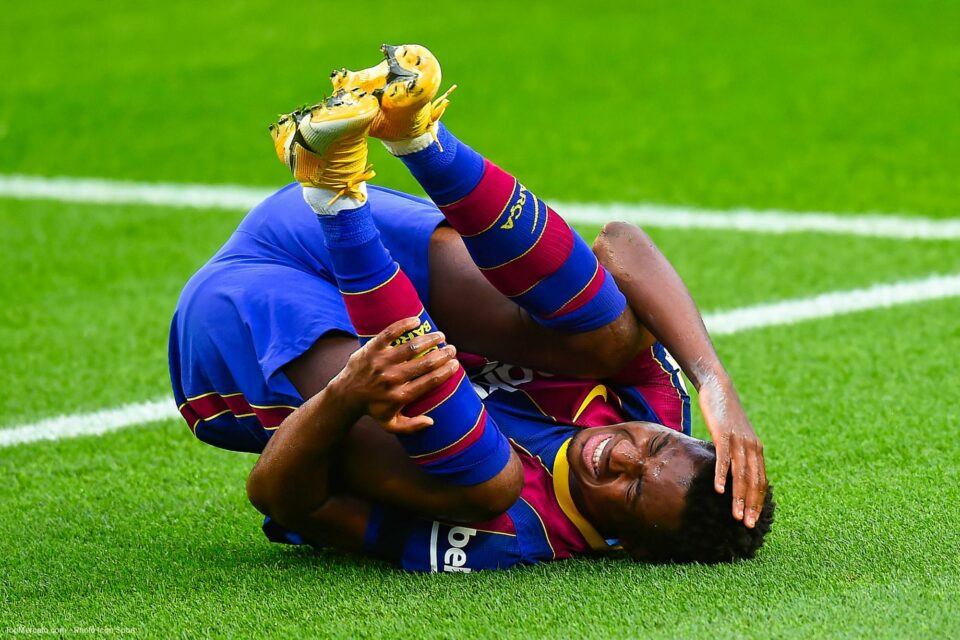 Maillot de bain Barça : Ansu Fati proposé à City ?