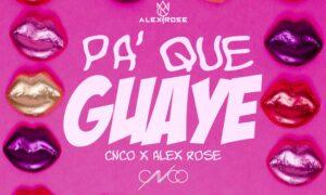 Maillot de bain Alex Rose Toes. CNCO – Pa' Que Guaye