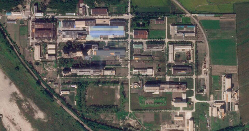 Maillot de bain Satellite images repeat N Korea expanding Yongbyon nuclear facility