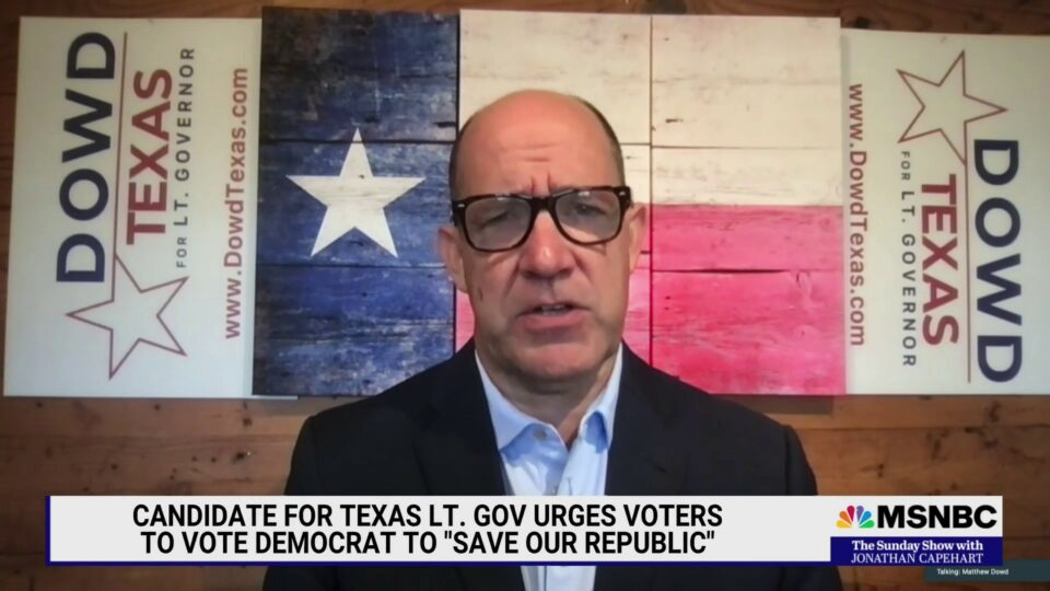 Maillot de bain Worn Republican strategist operating for Lt. Governor in Texas