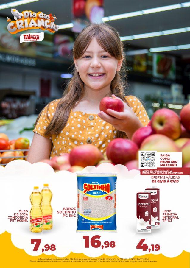 Maillot de bain Semana das Crianças no TAÍ MAX! Confira as ofertas pra hoje!
