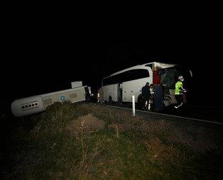 Maillot de bain Nevşehir'de otobüs kazası! 39'u öğrenci 44 yaralı: Valilikten ilk açıklama